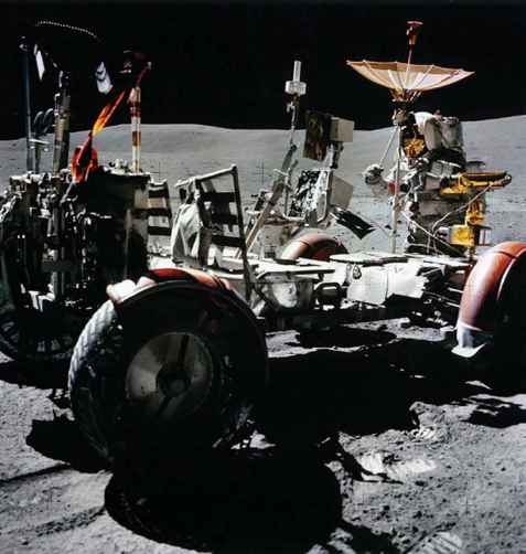 Lunar Roving Vehicle Fender