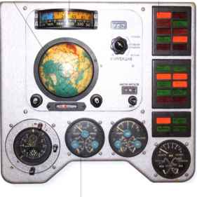 Vostok Instrument Panel