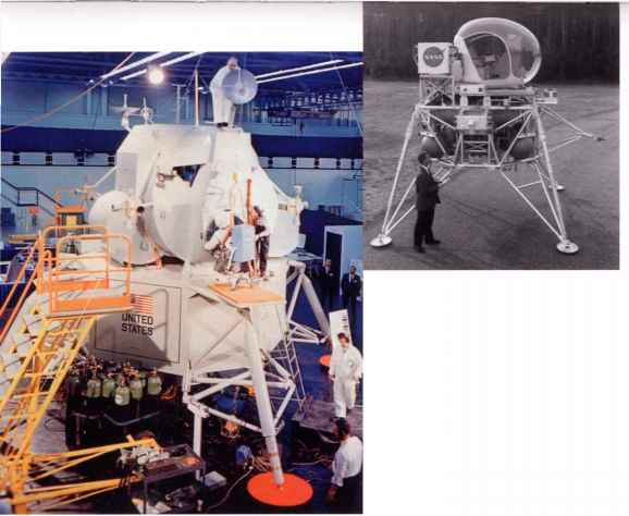 Grumman Lunar Module Hatch Operation