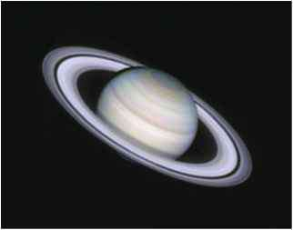 Saturn Images Taken Philips Webcam